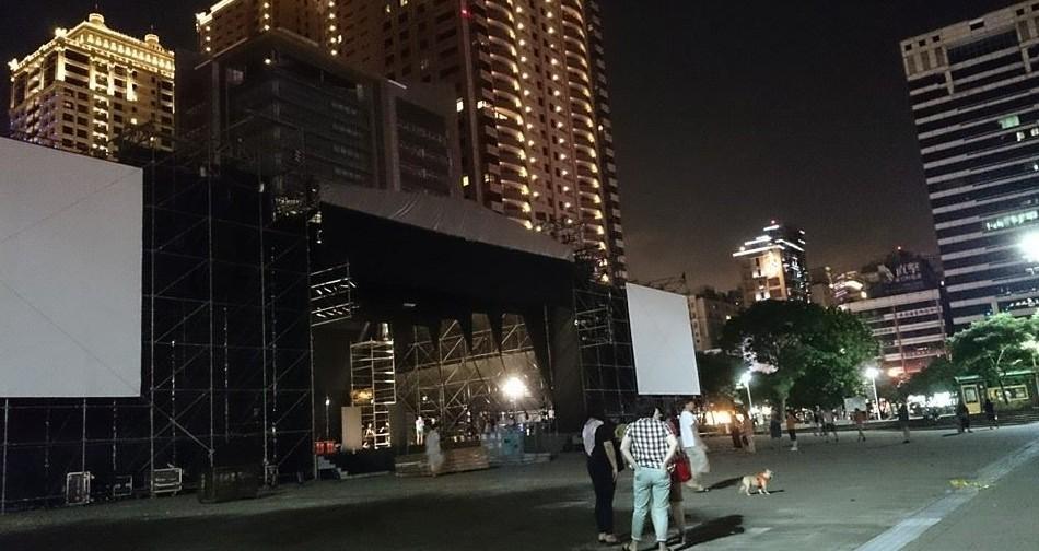 桃園芸文広場のライブ