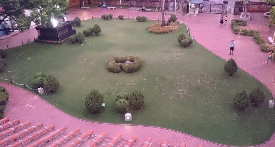 赤崁楼からの景色