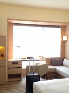 ホテルコッツィの部屋