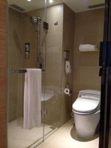 ホテルコッツィのバスルーム