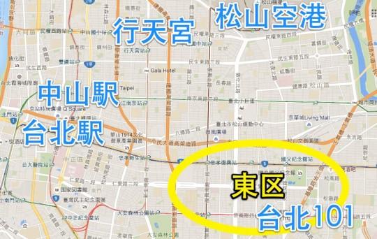 台北101 東区 マップ