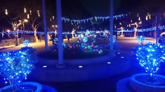 カトリック系の最難関私立大学「輔仁大学」に行ってきた。クリスマスイルミネーションも有名