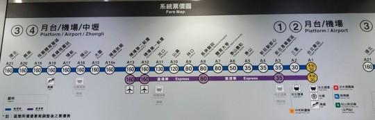 トランジットの短時間で桃園空港MRTの桃園空港駅から台北駅を往復できるか