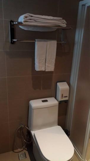 台北Mホテルのトイレ