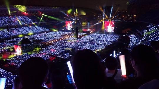 五月天(Mayday)のコンサート「人生無限公司」レポート【2017年3月・台湾高雄】