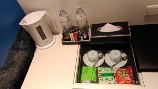 シティインホテルの備品
