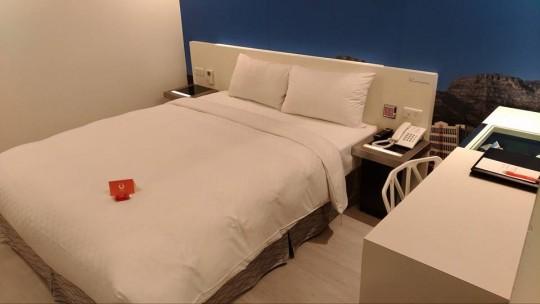 シティインホテルのベッド