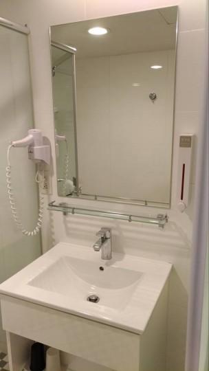 シティインホテルの洗面台・鏡