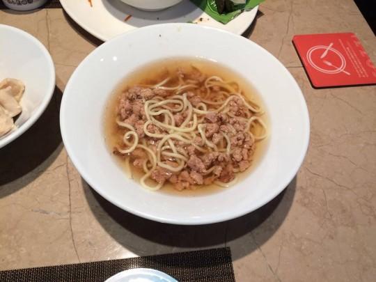COZZI民生館 朝食 麺