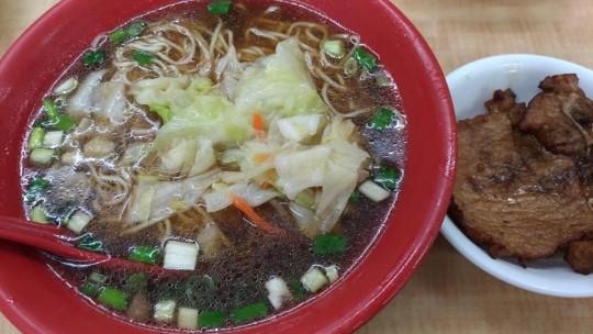 新百齡排骨大王 麺